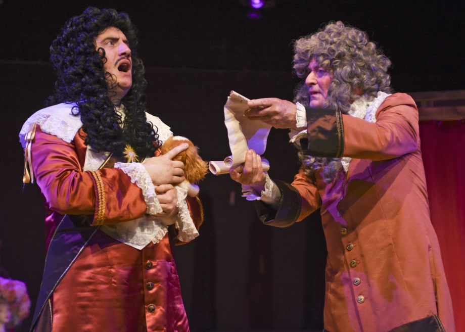 Jamie Goodliffe and David Dunford in Nell Gwynn, 2020