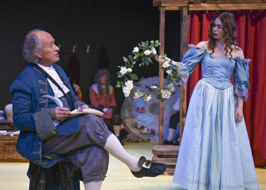 Richard Fife and Georgia Wray in Nell Gwynn, 2020