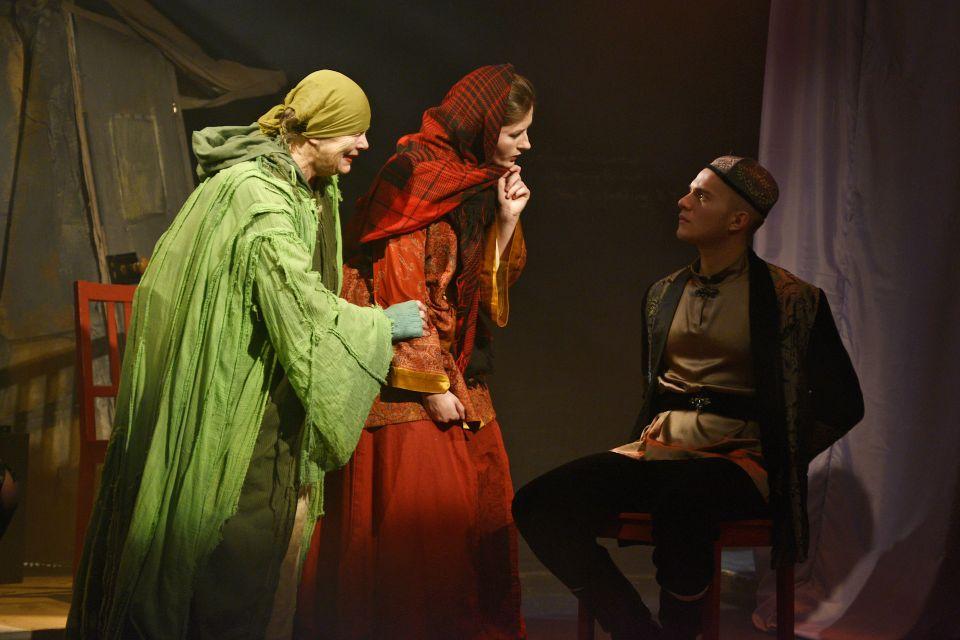 Lorna, Francesca and Martin in The Firebird, 2013