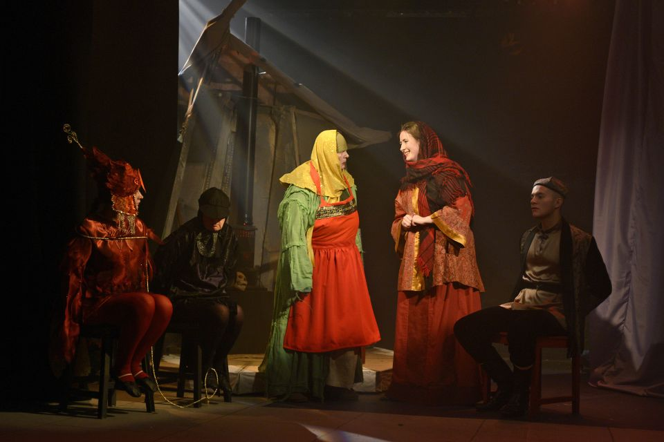 Hannah, Mandy, Lorna, Fran and Martin in The Firebird, 2013