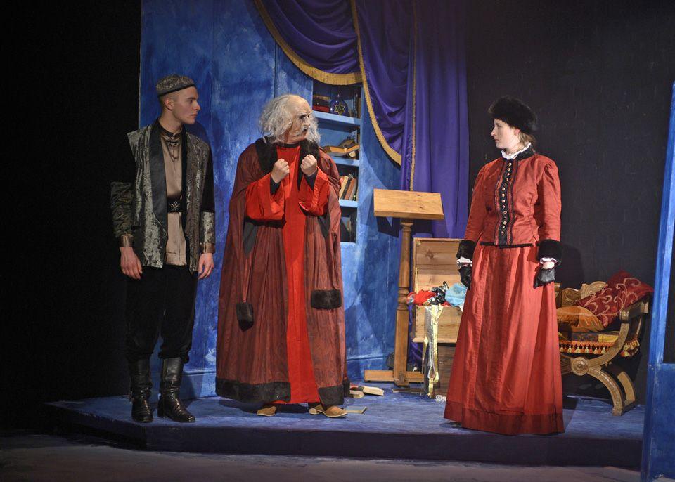Martin, Richard and Francesca in The Firebird, 2013