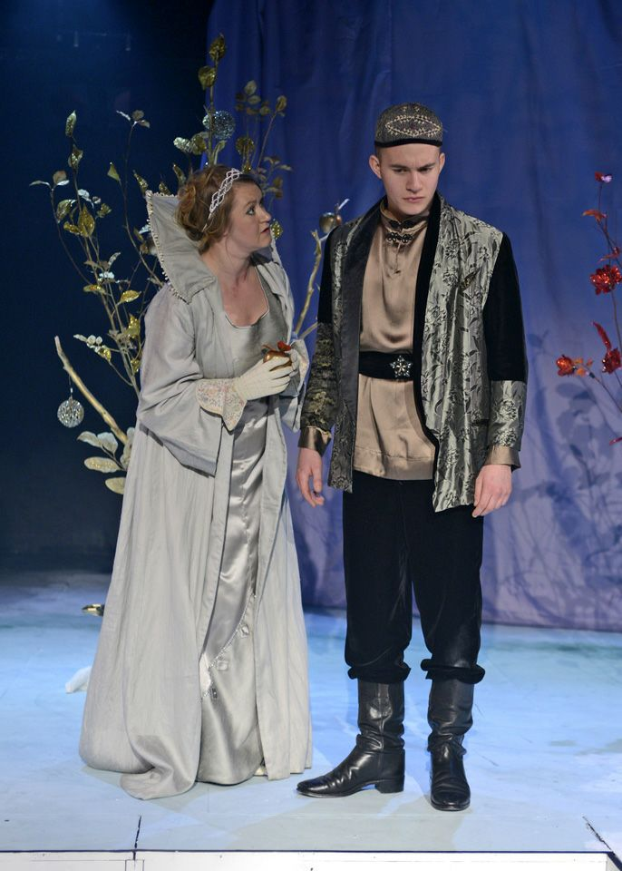 Michelle Smith and Martin Pikett in The Firebird, 2013