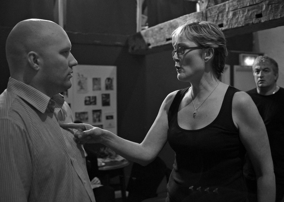 Howard Varney and Bex Mason in This is a Chair, 2014