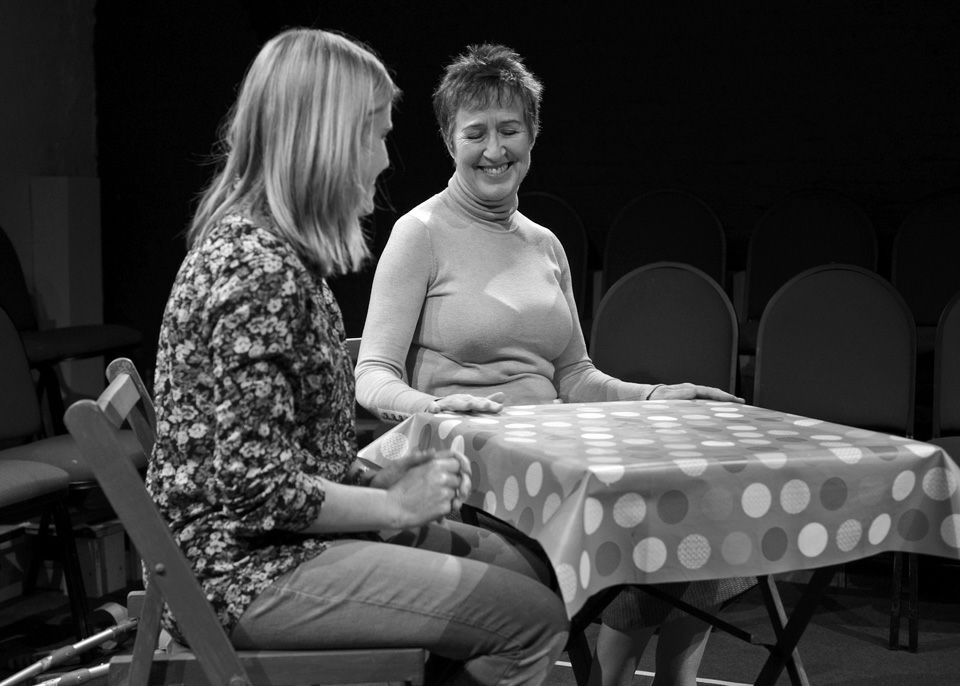 Maeve Doggett and Jane Pyke in Blue Kettle, 2014