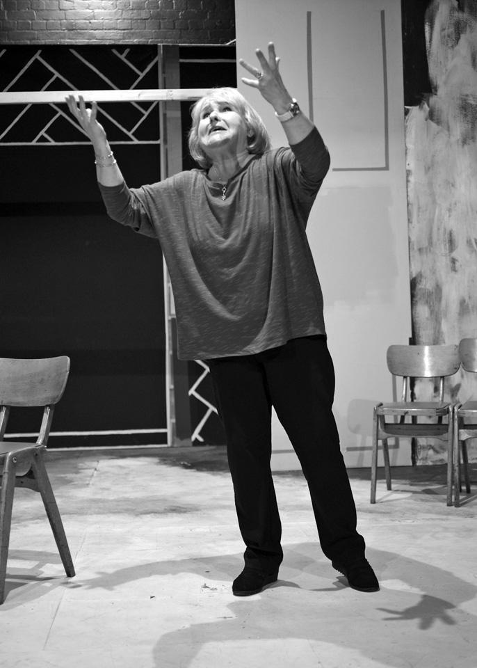 Carole Parkinson in Deathtrap, 2014