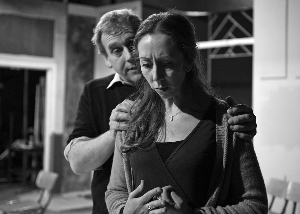 Robert Suttle and Judie Matthews in Deathtrap, 2014