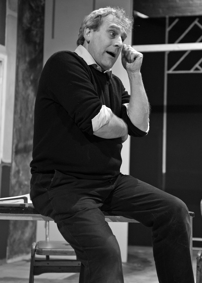 Robert Suttle in Deathtrap, 2014