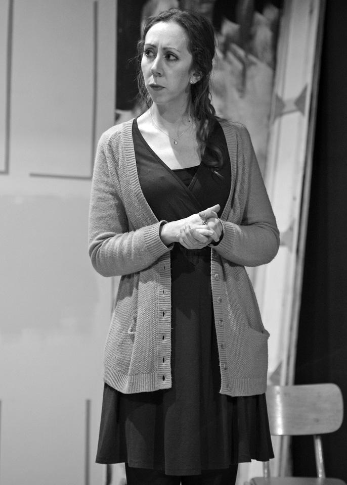 Judie Matthews in Deathtrap, 2014