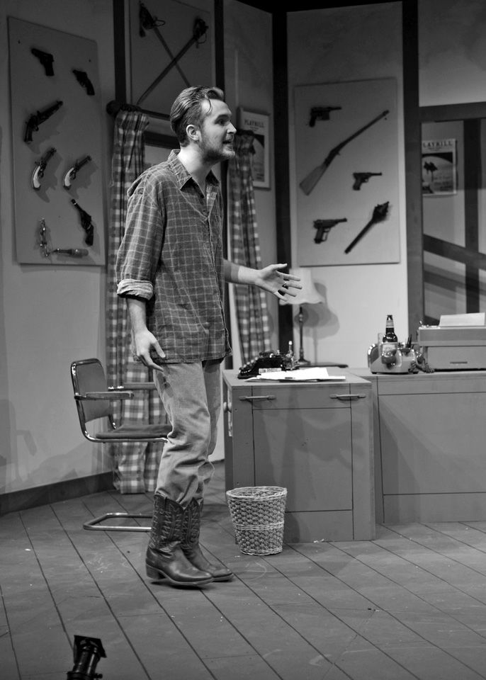 Edward P Crook in Deathtrap, 2014