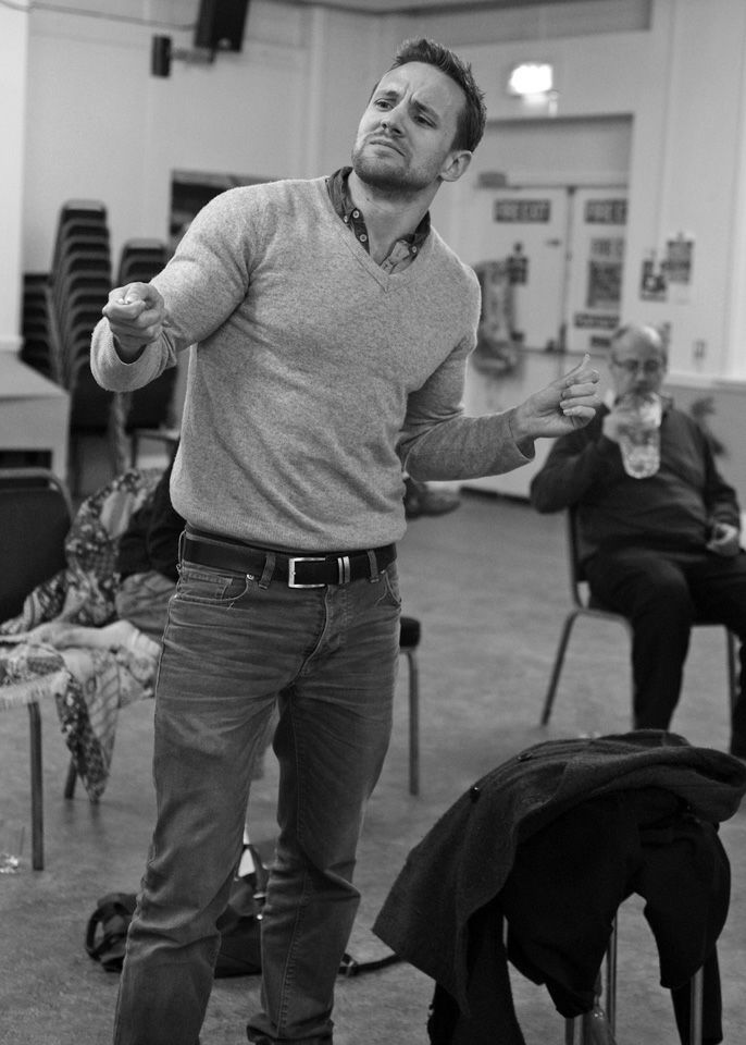 Chris Moseley in Black Comedy, 2014