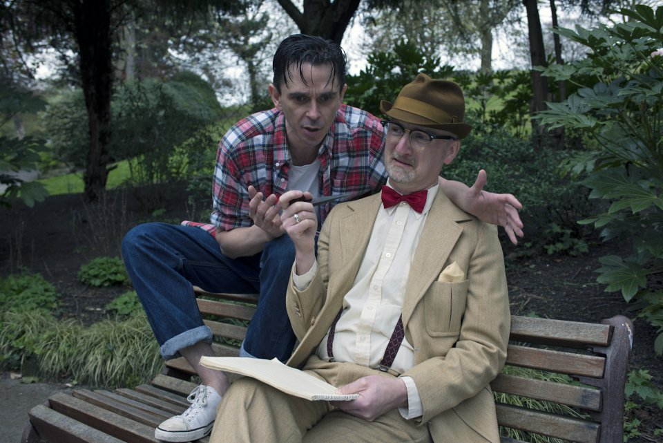 Guy Evans and Richard Holmes in The Zoo Story, 2014