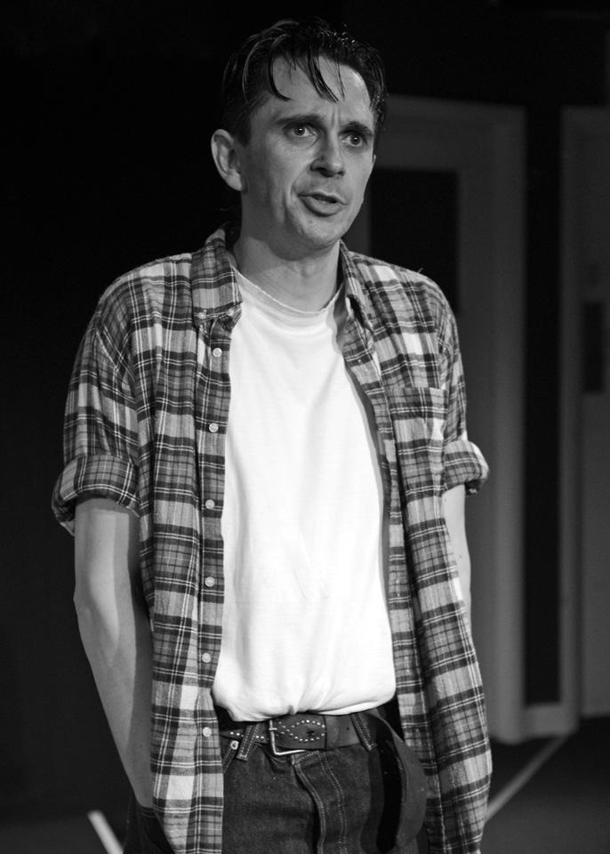 Guy Evans in The Zoo Story, 2014