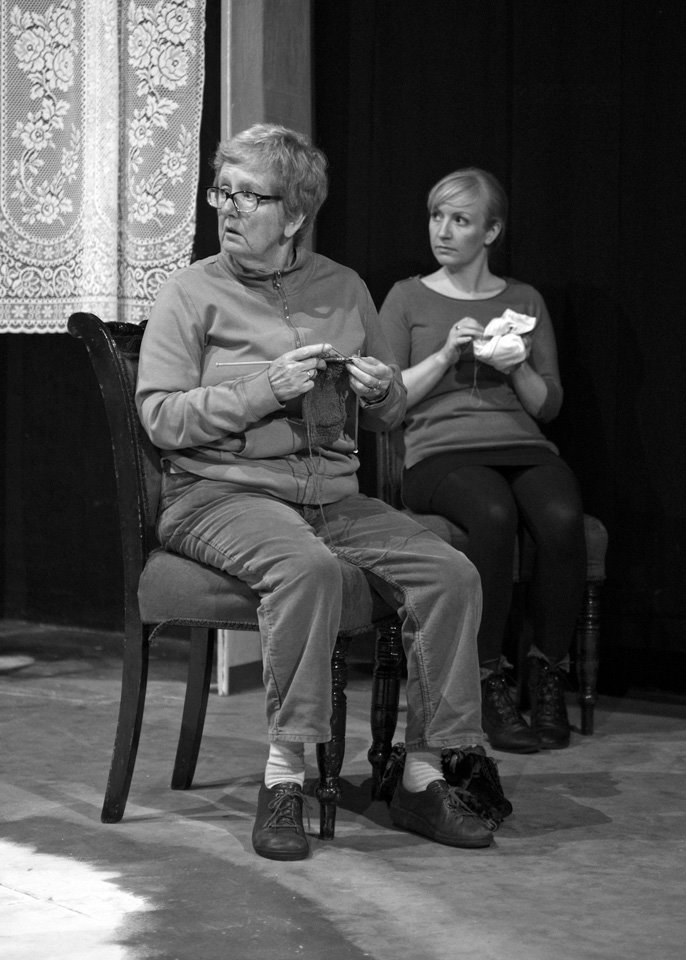 Hazel Salisbury and Tilda Stickley in Rutherford and Son, 2014