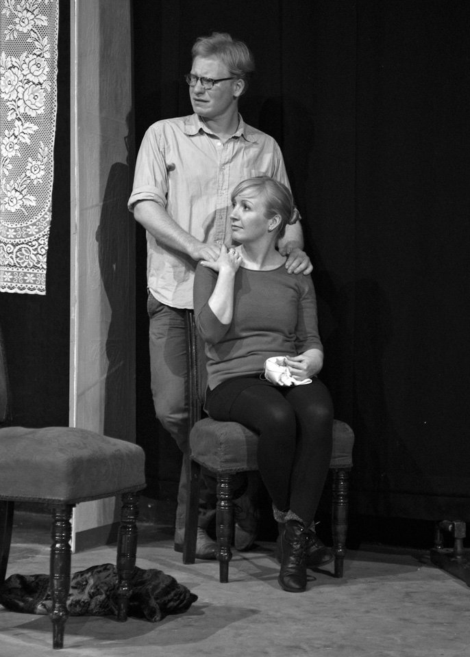 Sam Allison and Tilda Stickley in Rutherford and Son, 2014