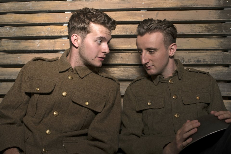 Martin Pikett and George Page-Bailey in Private Peaceful, 2014