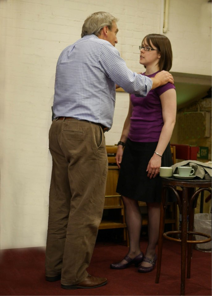 Robert and Danielle in For Services Rendered, 2014