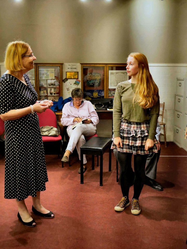 Cynthia and Eleanor in For Services Rendered, 2014