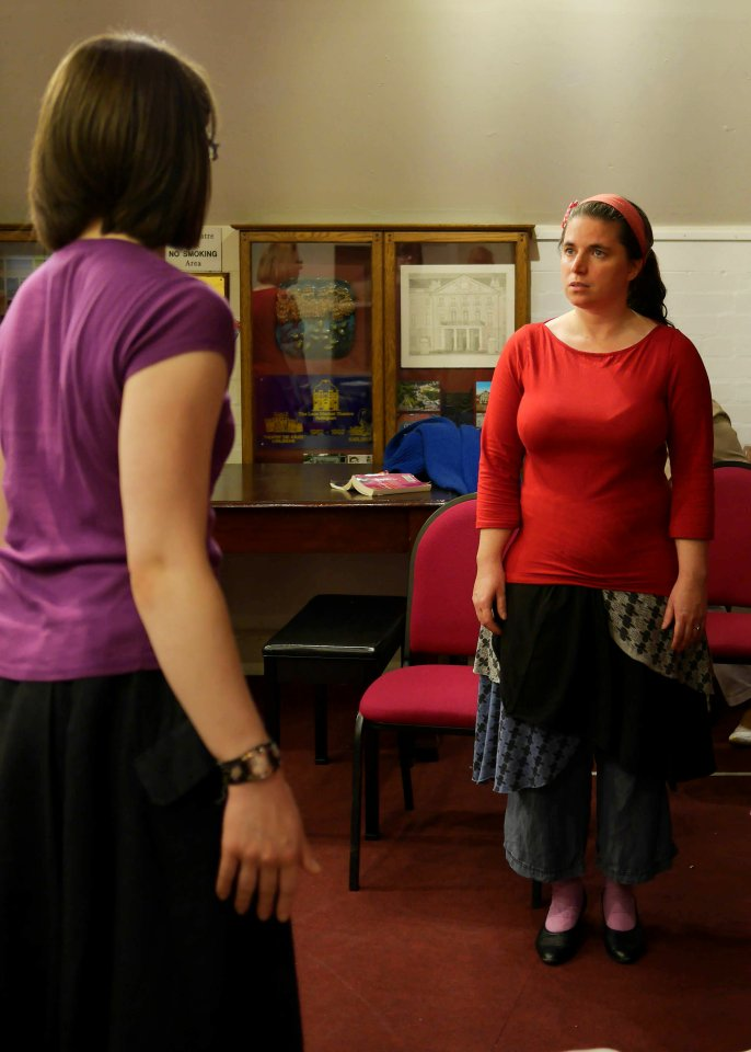 Danielle and Helen in For Services Rendered, 2014