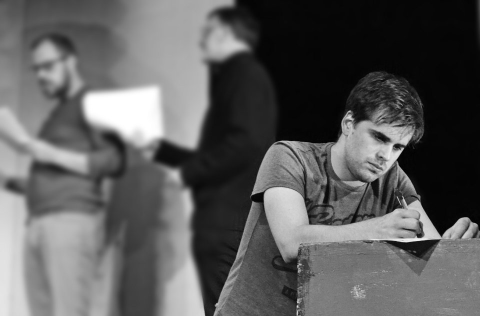 Matthew Hunt in The Pillowman, 2014