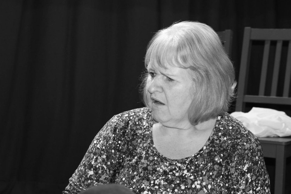 Carol Parkinson in Happy Jack, 2014