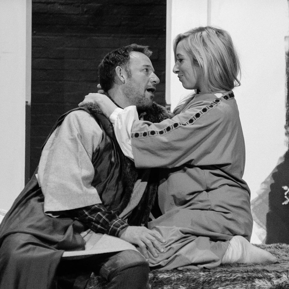 John Parker and Rachel Page in The Lion in Winter, 2015