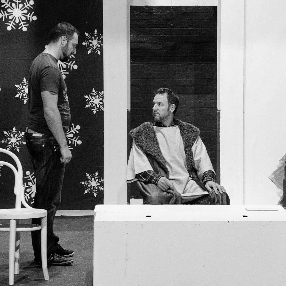 Chris Reed and John Parker in The Lion in Winter, 2015