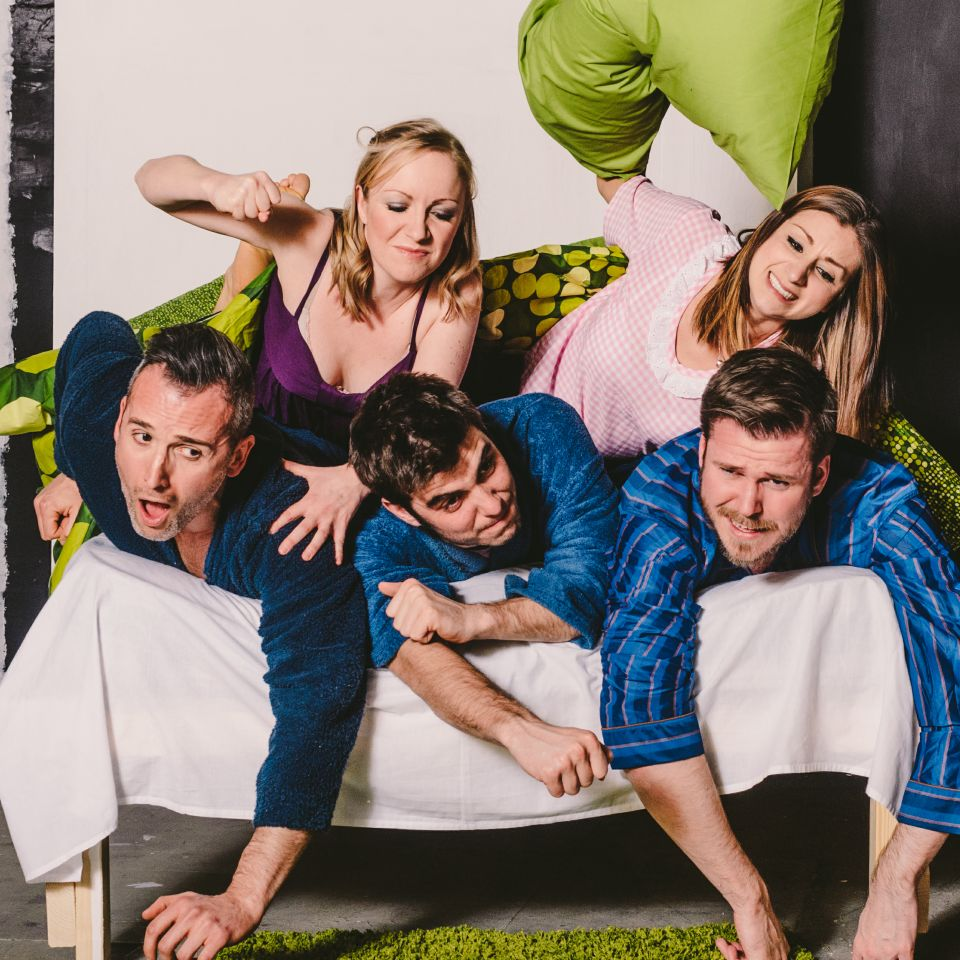 The lace market theatre for Farcical comedy plays