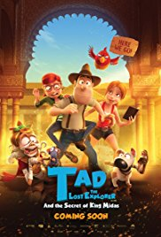 Tad The Lost Explorer And The Secret Of King Midas 2D