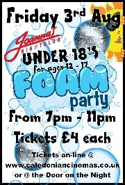 UNDER 18'S FOAM PARTY