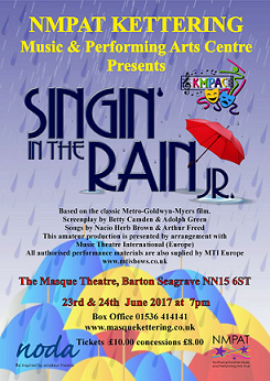 Singing in the Rain Jr