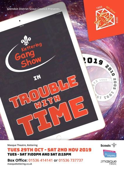 Kettering Gang Show in 'Trouble with Time'