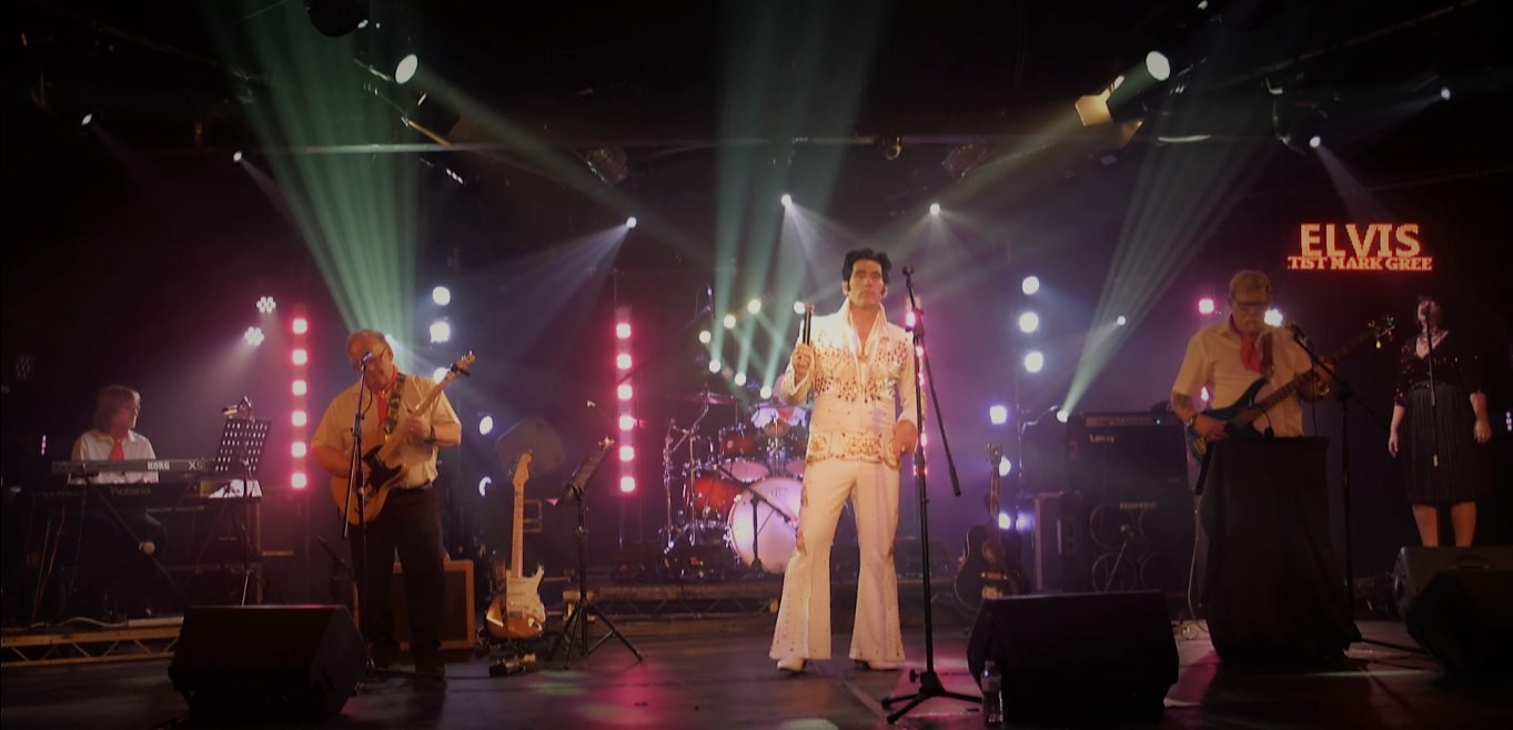 Mark Green Elvis & The Dixie Rock'n'Roll Band
