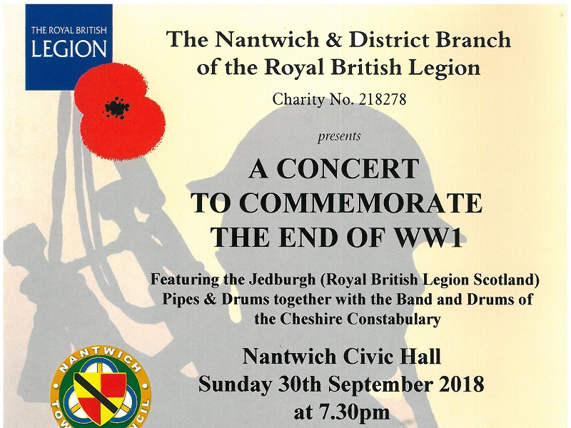 WW1 Commemoration Concert