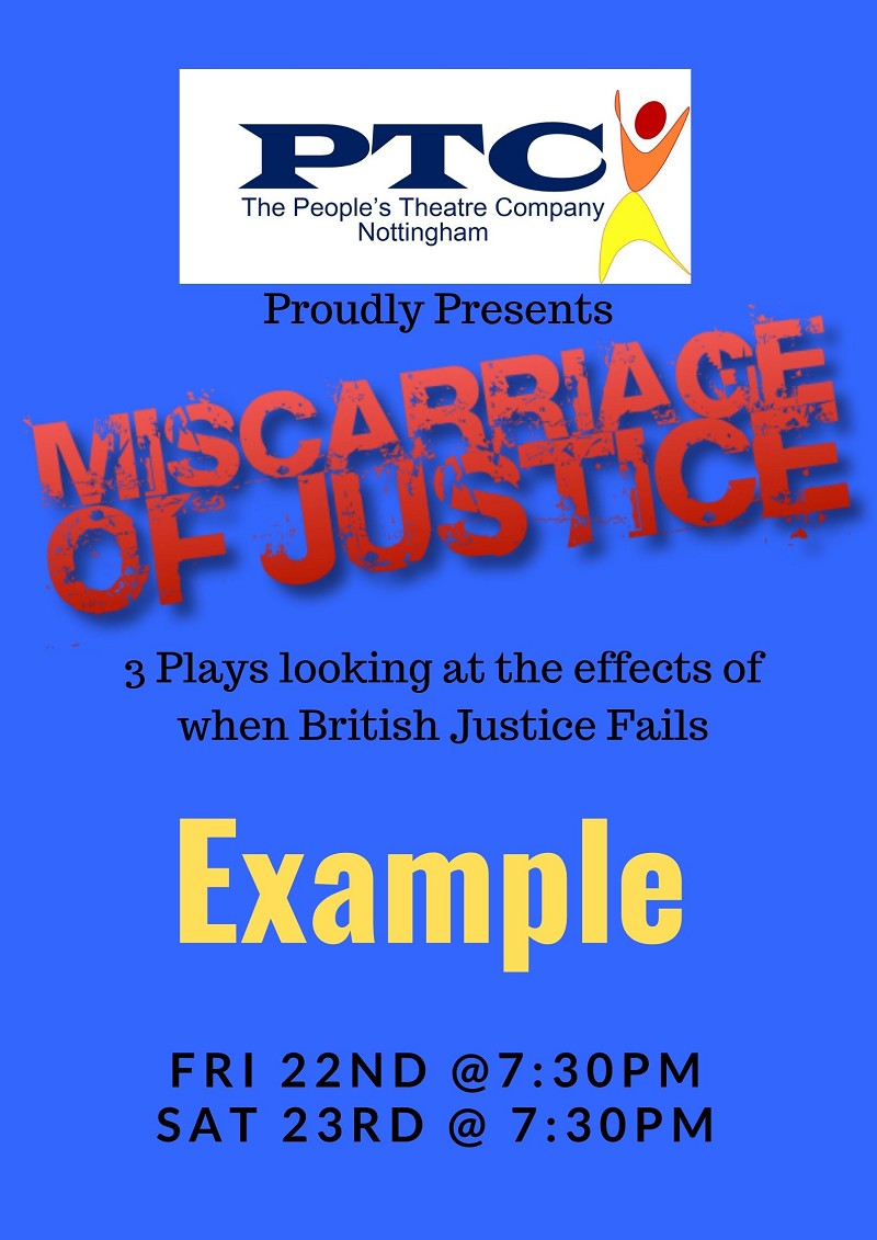 Miscarriages of Justice - Example