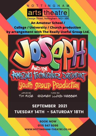 Joseph and his Amazing Technicolor Dreamcoat