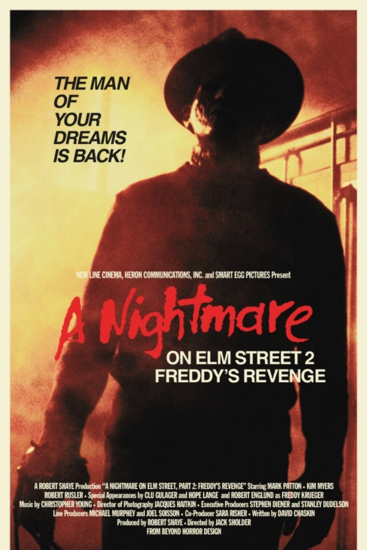 A Nightmare on Elm Street Part 2 + intro