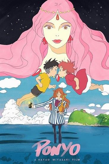Ponyo (2008) (Dubbed)