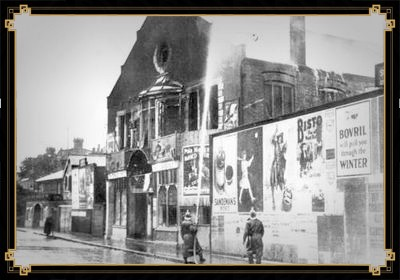 Fire damage to The Regent Cinema, 1927