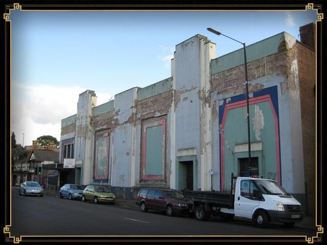 The derelict building, 1995