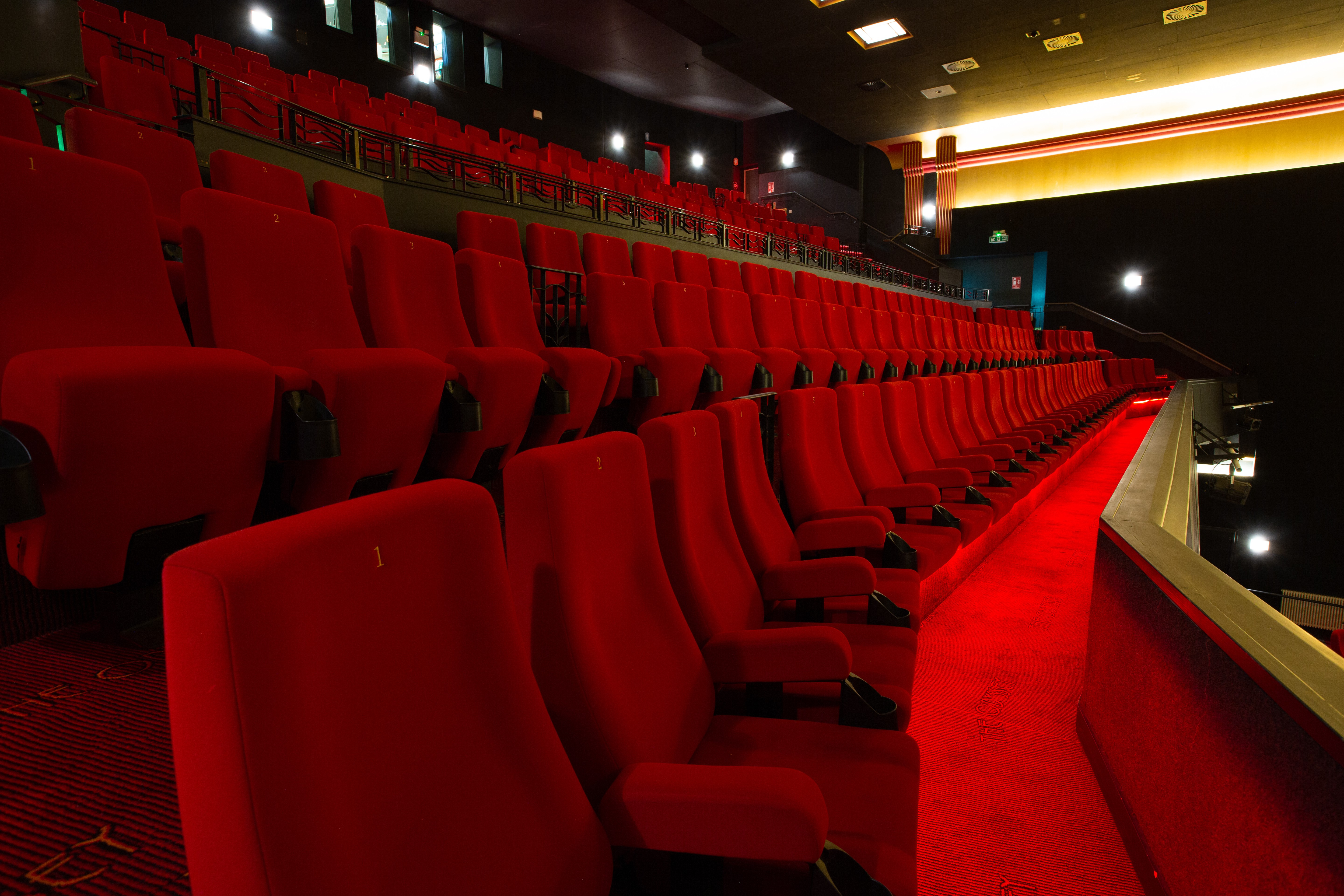 Upstairs Seating Rows