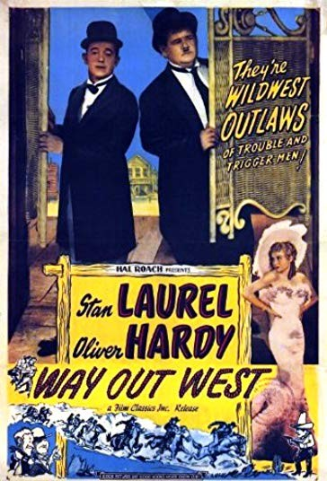 Laurel & Hardy's Way Out West (1937)