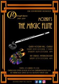 Peterborough Opera: Mozart's The Magic Flute