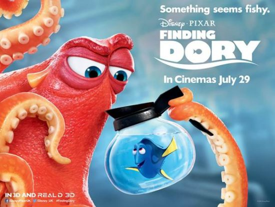 (2D) Finding Dory