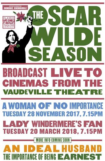 Oscar Wilde Season LIVE: The Importance Of Being Earnest