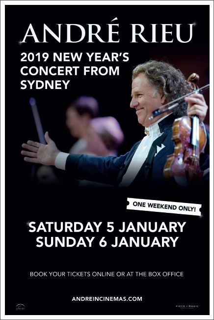 André Rieu 2019 New Year's Concert