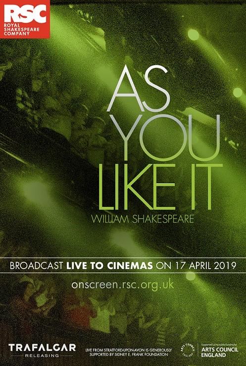 RSC Live 2019 - As You Like It