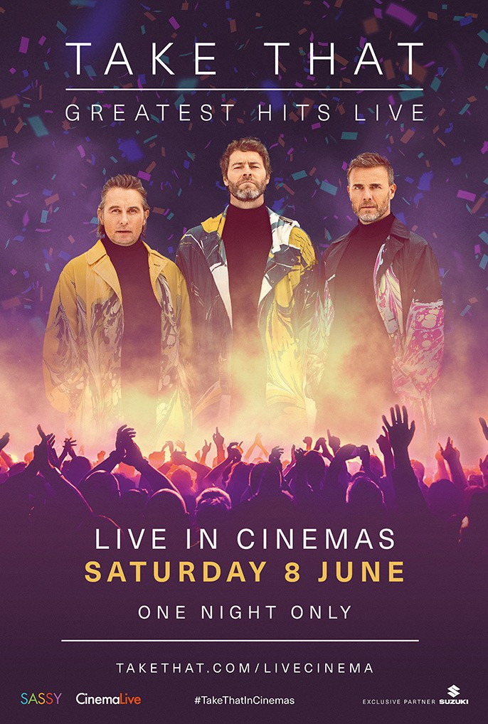 Take That The Greatest Hits Live