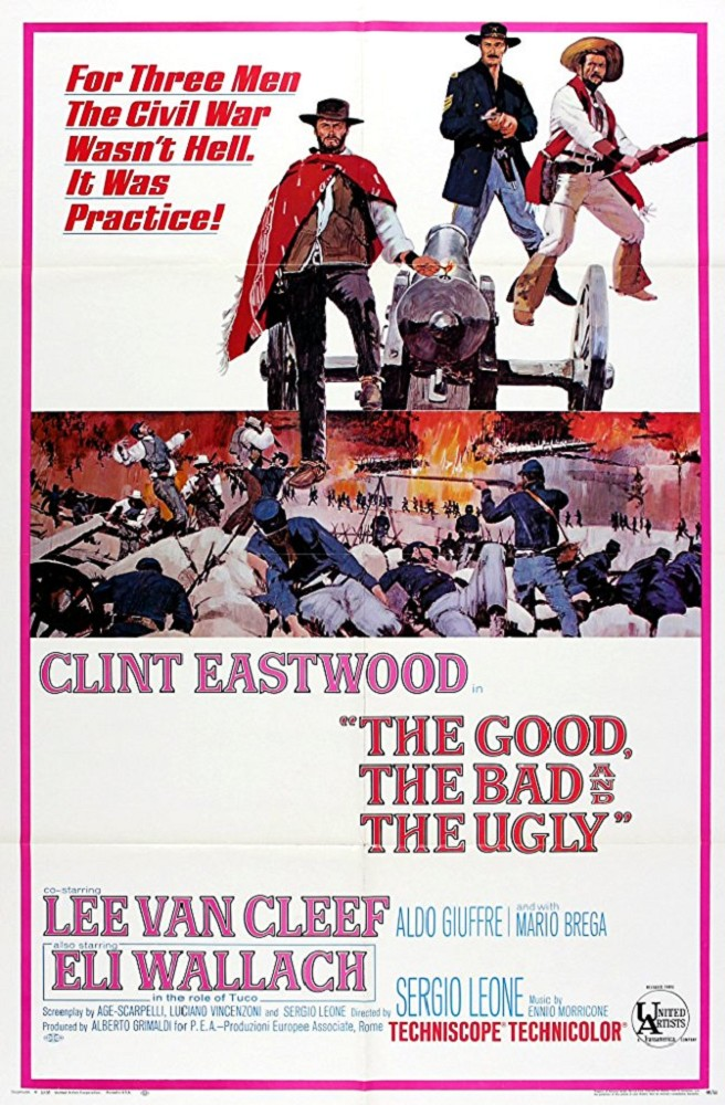 THE GOOD, THE BAD & THE UGLY [Il buono, il brutto, il cattivo]