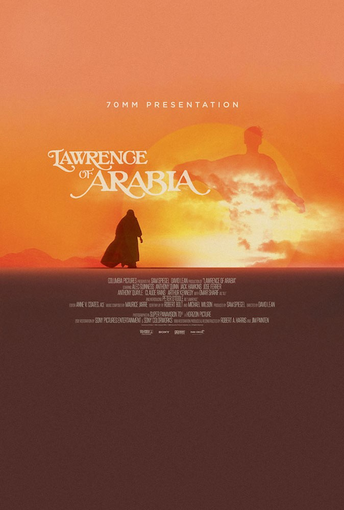LAWRENCE OF ARABIA - Restored 70mm Presentation