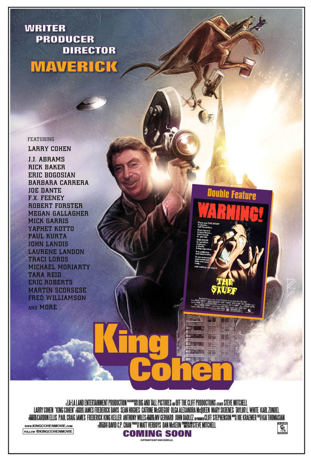 THE STUFF + KING COHEN: THE WILD WORLD OF FILMMAKER LARRY COHEN
